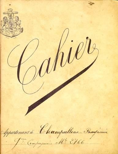 Assez Cahiers scolaires entre 1912 et 1929 XM38